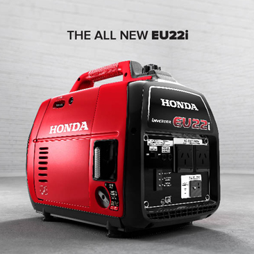 NEW PRODUCT RELEASE: Honda EU22i Generator